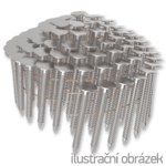 Hřebíky do krytiny ve svitku 16° 3,05 x 25 mm, konvexní, žárový zinek