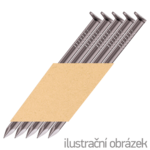 Hř. pásk. v papíru 34° 2,8 x 63 D-hlava hladké