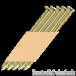 Hř. pásk. v papíru 34° 3,1 x 90 D-hlava hladké zinkované