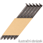 Hř. pásk. v papíru 34° 3,1 x 80 D-hlava konvex