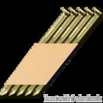 Hř. pásk. v papíru 34° 2,8 x 50 D-hlava konvex 12µ zinek