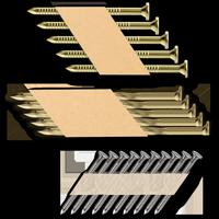Páskované hřebíky v papíru 34°