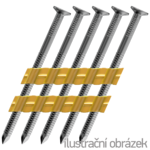 Hř. pásk. v plastu 20° 3,1 x 80 konvexní