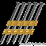 Hř. pásk. v plastu 20° 2,8 x 70 konvexní
