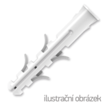 Hmoždinka UPA-L standard s lemem 10x50mm nylon