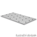 Děrovaná styčníková deska 80x400x2,0