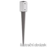 Kotvící hrot čtvercový 120x120x900
