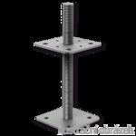 Patka pilíře 110x110x250x4,0 M24 volná matka