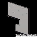 Spárová kotva typ 2 100x100x3,0