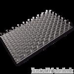 Styčníková deska s hroty 54x90x1,0