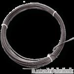 Vazací drát 3,8 mm černý, měkký, žíhaný - svitky 5 kg