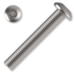 Šroub s půlkulatou hlavou, imbus M5x30 ZB ISO 7380 10.9