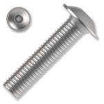 Šroub s půlkulatou hlavou s límcem, imbus M4x30 ZB ISO 7380-2FL 10.9