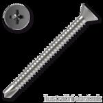 Šroub samovrtný TEX 6,3x80 ZB zápust.hlava DIN7504P