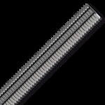 Závitová tyč M5x1000, 10.9 bez povrch. úpravy