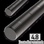 Závitová tyč M6x1000, 4.8 bez povrch. úpravy