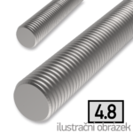 Závitová tyč M8x1000, ZB 4.8