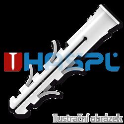 Hmoždinka UPA-L standard s lemem 8x40mm nylon - 1