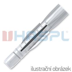 Hmoždinka uzlovací UH 6x50mm, polyethylen - 1