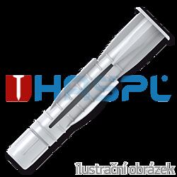 Hmoždinka uzlovací s lemem UHL 6x51mm, polyethylen