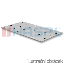 Děrovaná styčníková deska 80x200x2,0 - 1