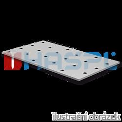 Děrovaná styčníková deska 120x200x2,0 - 1