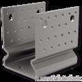 Kotevní prvek Typ U 80x80x4,0 s prolisem - 1/3