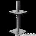 Patka pilíře 80x80x160x4,0 M16 - 1/3
