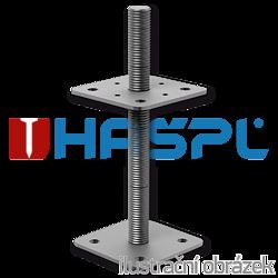 Patka pilíře 80x80x250x4,0 M24 - 1