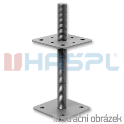 Patka pilíře 110x110x330x4,0 M24 - 1