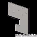 Spárová kotva typ 2 100x100x3,0 - 1/3