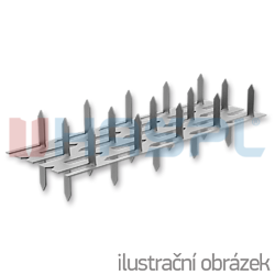 Styčníková deska s hroty 35x84x1,5 oboustranná - 1