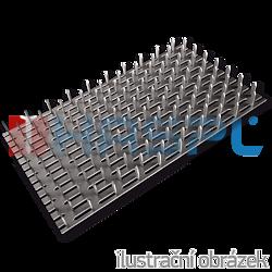 Styčníková deska s hroty 105x210x1,5 - 1