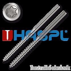 Kombinovaný vrut/šroub M8x140 TX25 ZB