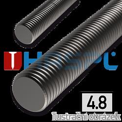 Závitová tyč M5x1000, 4.8 bez povrch. úpravy