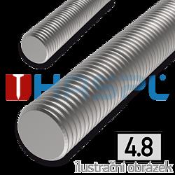 Závitová tyč M27x1000, ZB 4.8