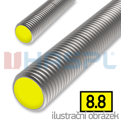 Závitová tyč M24x1000, ZB 8.8