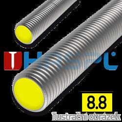 Závitová tyč M8x1000, ZB 8.8
