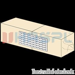 Děrovaná styčníková deska 120x400x2,0 - 2