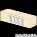 Děrovaná styčníková deska 40x80x2,0 - 2/3