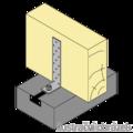 Kotevní prvek L Typ1 300x40x65x5,0 - 2/3