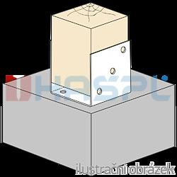 Kotevní prvek Typ U 100x100x4,0 - 2