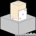 Kotevní prvek Typ U 100x100x4,0 - 2/3