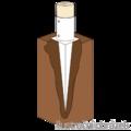 Kotvící hrot kruhový 100x750 - 2/3
