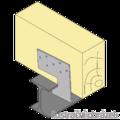 Spárová kotva typ 2 100x100x3,0 - 2/3