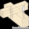 Spojka vaznice krokev 170 x2,0 - 2/3