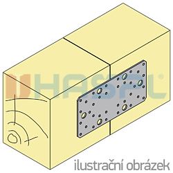 Spojovací deska 45x120x2,0 - 2