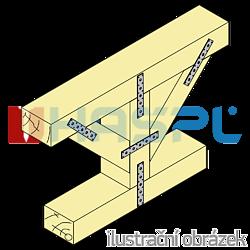 Spojovací páska 40x260x3,0 - 2