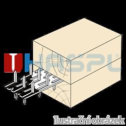 Styčníková deska s hroty 35x84x1,5 oboustranná - 2