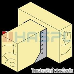 Trámová botka - třmen Typ2 160x160x2,0 - 2